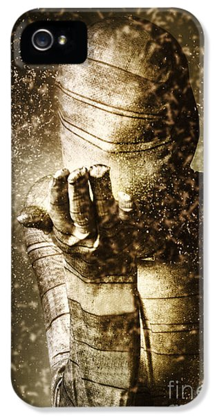 Curse Of The Mummy IPhone 5 Case by Jorgo Photography - Wall Art Gallery