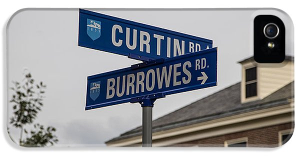 Curtin And Burrowes Penn State  IPhone 5 Case by John McGraw