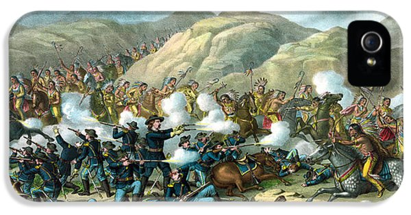 Custer's Last Stand IPhone 5 Case