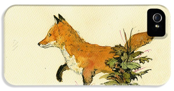 Cute Fox In The Forest IPhone 5 Case