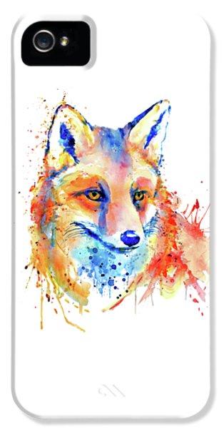 Cute Foxy Lady IPhone 5 Case by Marian Voicu