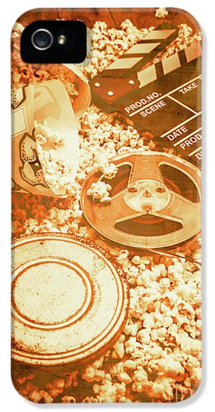 Cutting A Scene Of Vintage Film IPhone 5 Case by Jorgo Photography - Wall Art Gallery