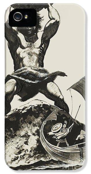Cyclops IPhone 5 Case by Angus McBride