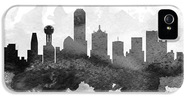 Dallas Cityscape 11 IPhone 5 Case by Aged Pixel