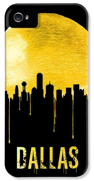 Dallas Skyline Yellow IPhone 5 Case