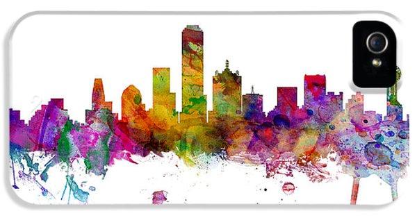 Dallas Texas Skyline Panoramic IPhone 5 Case