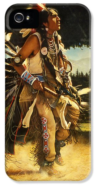 Dance Of His Fathers IPhone 5 Case by Greg Olsen