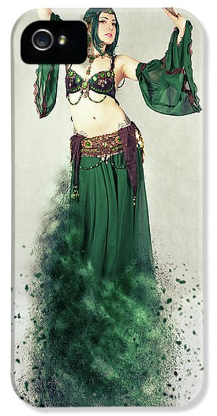 Dance Of The Belly IPhone 5 Case by Nichola Denny