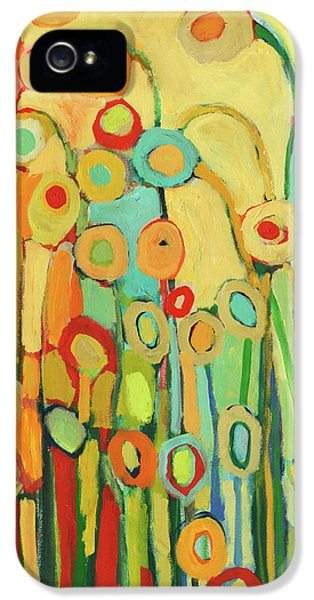 Dance Of The Flower Pods IPhone 5 Case by Jennifer Lommers