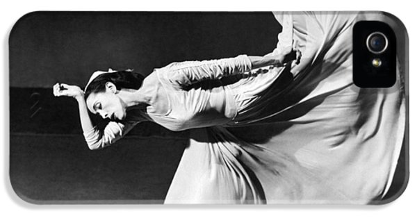 Dancer Martha Graham IPhone 5 Case by Underwood Archives