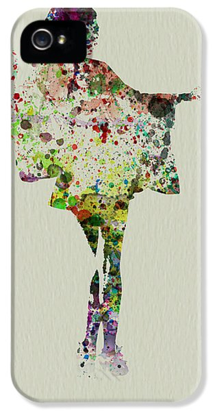 Dancing Geisha IPhone 5 Case by Naxart Studio