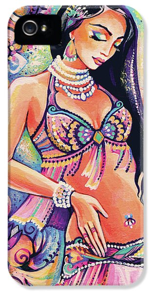 Dancing In The Mystery Of Shahrazad IPhone 5 Case by Eva Campbell