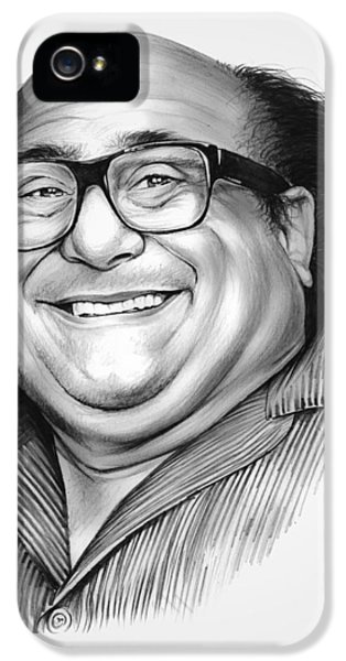Danny Devito IPhone 5 Case by Greg Joens