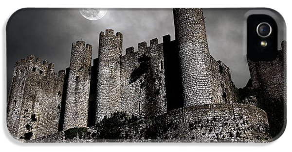 Dark Castle IPhone 5 Case by Carlos Caetano
