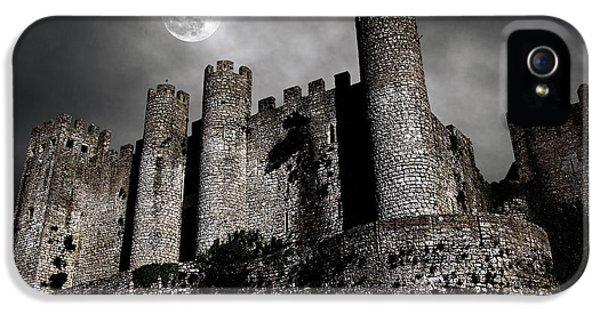 Spooky iPhone 5 Cases - Dark Castle iPhone 5 Case by Carlos Caetano