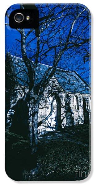 Dark Mysterious Church IPhone 5 Case