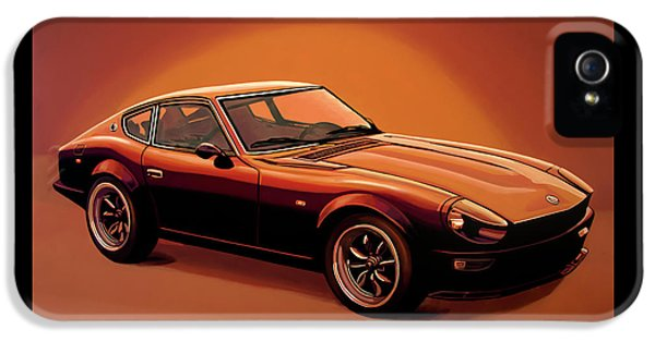 Datsun 240z 1970 Painting IPhone 5 Case