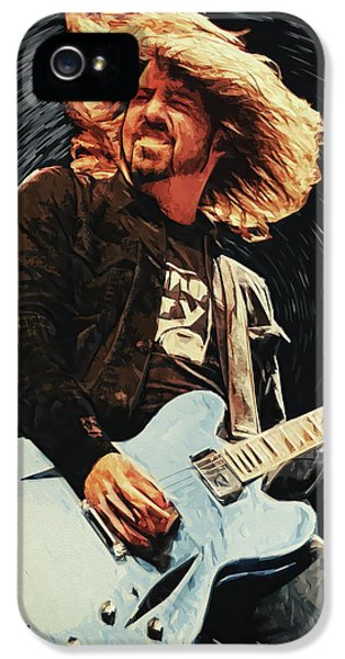 Vulture iPhone 5 Case - Dave Grohl by Taylan Apukovska