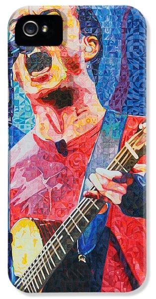 Dave Matthews Squared IPhone 5 Case by Joshua Morton