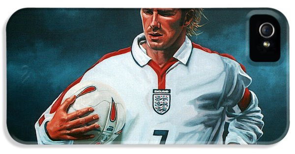 David Beckham IPhone 5 Case by Paul Meijering