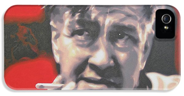 David Lynch IPhone 5 Case by Luis Ludzska