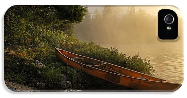 Dawn On Boot Lake IPhone 5 Case