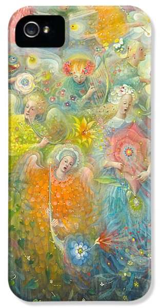 Daydream After The Music Of Max Reger IPhone 5 Case by Annael Anelia Pavlova