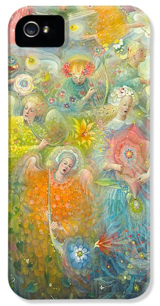 Daydream After The Music Of Max Reger IPhone 5 / 5s Case by Annael Anelia Pavlova
