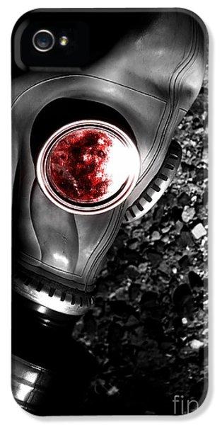 Breathe iPhone 5 Case - Death In Battle by Jorgo Photography - Wall Art Gallery