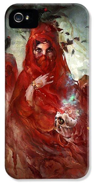 Death IPhone 5 Case by Te Hu