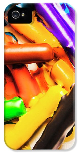 Deconstructing The Colour Wheel IPhone 5 / 5s Case by Jorgo Photography - Wall Art Gallery
