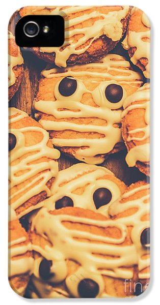 Decorated Shortbread Mummy Cookies IPhone 5 Case