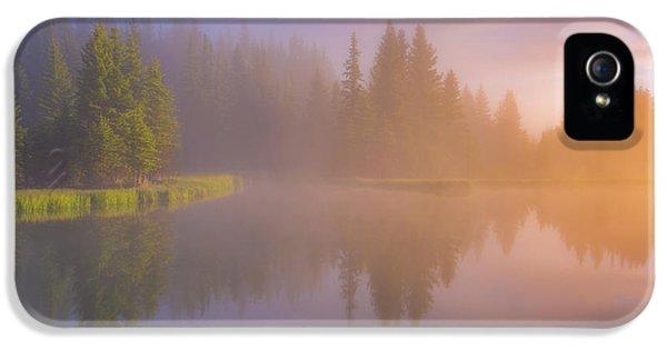 Breathe iPhone 5 Case - Deep Breath by Darren White