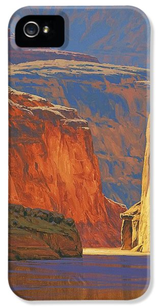 Deep In The Canyon IPhone 5 Case by Cody DeLong