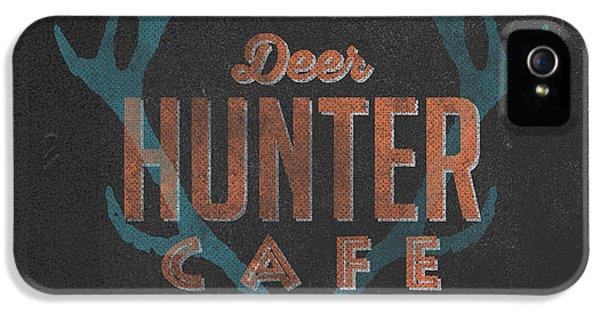 Deer Hunter Cafe IPhone 5 / 5s Case by Edward Fielding