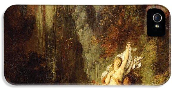 Dejanira  Autumn IPhone 5 Case by Gustave Moreau