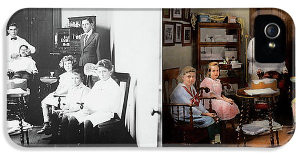 Dentist - The Family Practice 1921 - Side By Side IPhone 5 Case