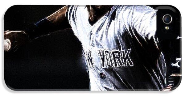 Derek Jeter IPhone 5 / 5s Case by Paul Ward