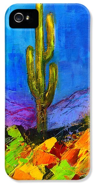 Desert Giant IPhone 5 Case by Elise Palmigiani