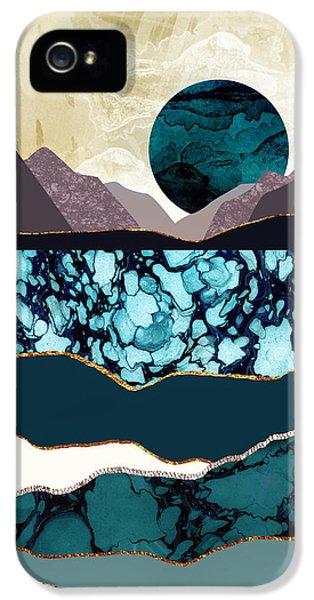 Landscapes iPhone 5 Case - Desert Lake by Katherine Smit