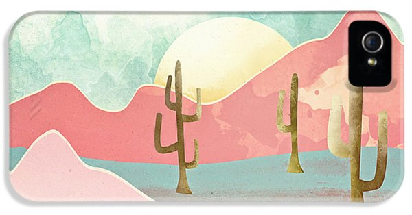 Landscape iPhone 5 Case - Desert Mountains by Spacefrog Designs