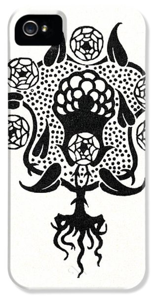 Design For The Front Cover Of Salome IPhone 5 Case by Aubrey Beardsley