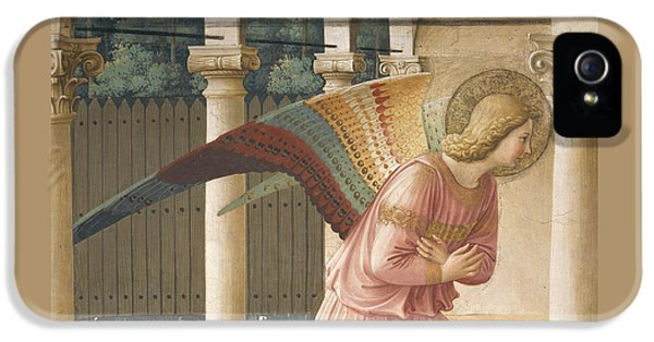 Detail From The Annunciation Showing Archangel Gabriel IPhone 5 Case