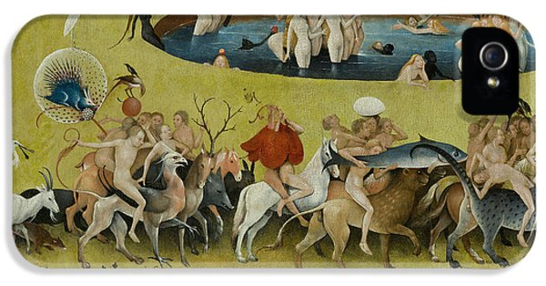 Detail From The Central Panel Of The Garden Of Earthly Delights IPhone 5 Case by Hieronymus Bosch
