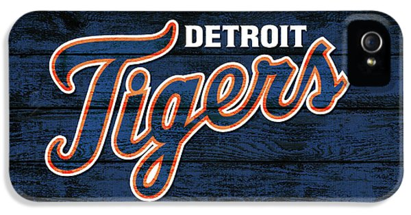 Detroit Tigers Barn Door IPhone 5 Case by Dan Sproul