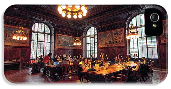 IPhone 5 Case featuring the photograph Dewitt Wallace Periodical Room by Jessica Jenney