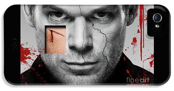 Dexter  IPhone 5 Case by Prar Kulasekara