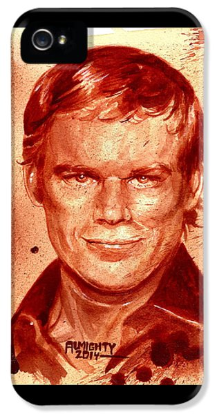 Dexter IPhone 5 Case by Ryan Almighty