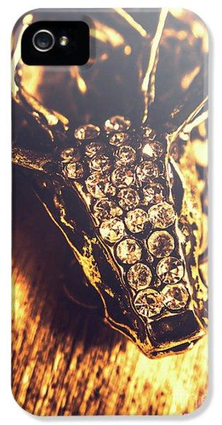 Diamond Encrusted Wildlife Bracelet IPhone 5 Case by Jorgo Photography - Wall Art Gallery