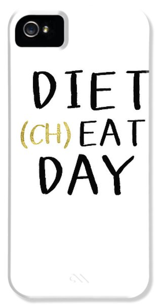 Diet Cheat Day- Art By Linda Woods IPhone 5 Case by Linda Woods